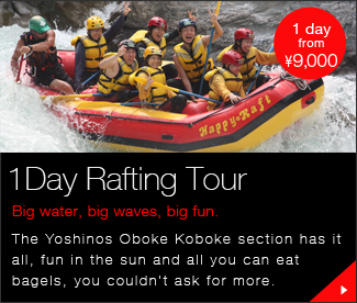 1Day Rafting Tour